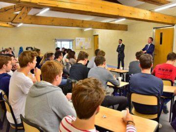 Les étudiants de la Prépa Aristeia participent au Festival de Géopolitique de Grenoble École de Management