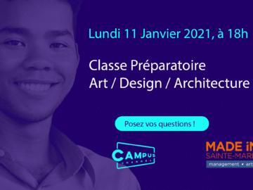 Campus Channel : tout savoir sur la classe prépa Art et Design !